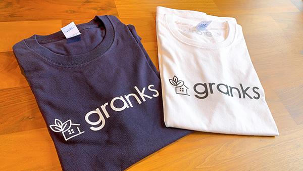 granksオリジナルTシャツ出来ました!