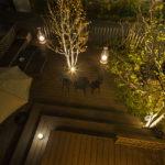 映える!ガーデンライトで夜の演出-ライトアップするメリットとコツ